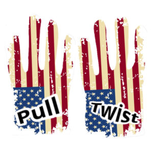 Ripped American Flag Gloves Design