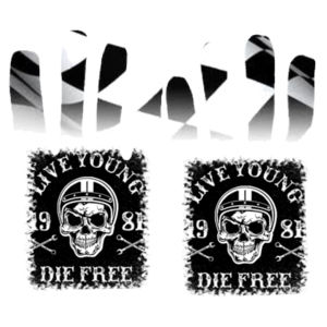 Live Young Gloves Design