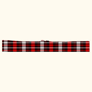Red Plaid Goggle Design