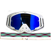 Pink and Blue Plaid Goggle Thumbnail