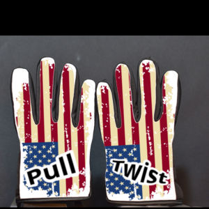Ripped American Flag Gloves Thumbnail